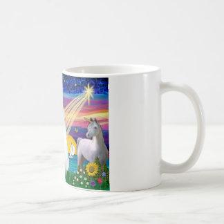 White Cat - Magical Night Mug