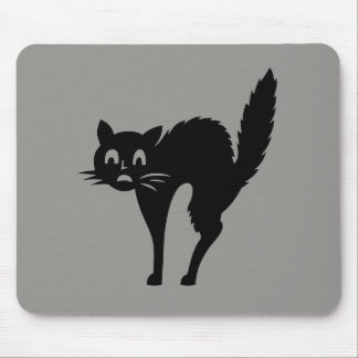 White Cat Pet Cute Holiday Gifts Mouse Pad