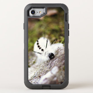 White Caterpillar OtterBox Defender iPhone 7 Case