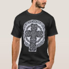 White Celtic Cross shirt