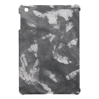 White Chalk and Black Ink iPad Mini Cases