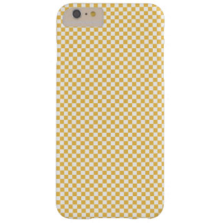 White Checkers with Your Own Colors. Barely There iPhone 6 Plus Case