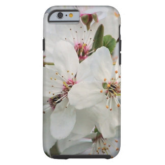 White Cherry Blooms Tough iPhone 6 Case