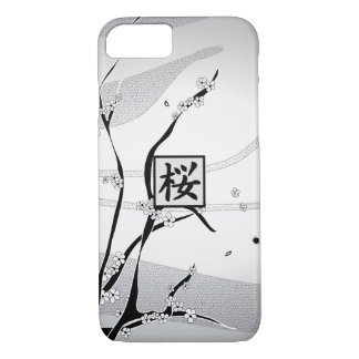 White Cherry Blossom Tree iPhone 7 Case