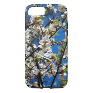 White Cherry Blossoms Phone Case