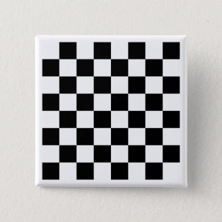 White Chess Board Button