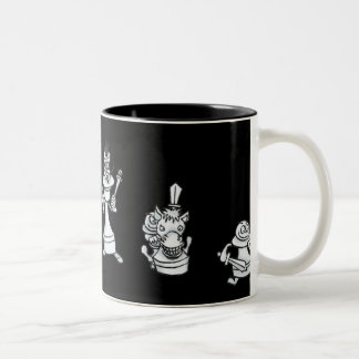 White Chessmen Mug