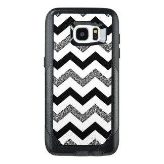 White Chevron Samsung Galaxy S7 Edge Otterbox Case
