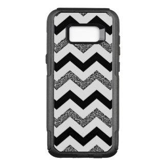 White Chevron Samsung Galaxy S8+ Otterbox Case