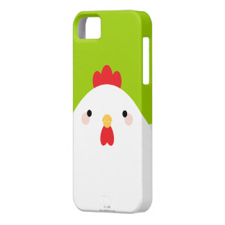 White Chicken iPhone 5 Case