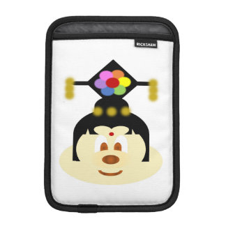 White Chn Female Hat 鲍 鲍 Ipad Mini Rickshaw Sleeve