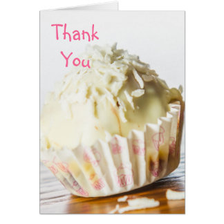 White Chocolate Candy Thank You Card