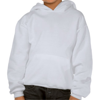 White Christmas Bauble. On Gold Color. Hooded Pullover