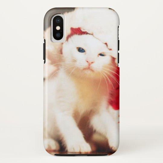 White Christmas Cat HTC Vivid Covers