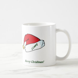 White Christmas Mug