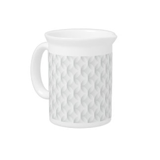 White circle embossed pitcher