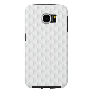 White circle embossed samsung galaxy s6 cases