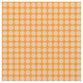 White Circles Fabric