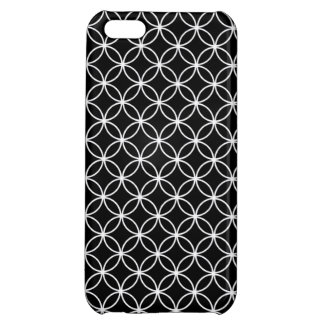 White Circles Pattern Case For iPhone 5C