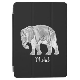 White Circus Elephant iPad Pro Cover