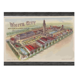 White City 63rd St And South Park Av Chicago Postcard