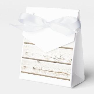 White Clapboard Favor Box