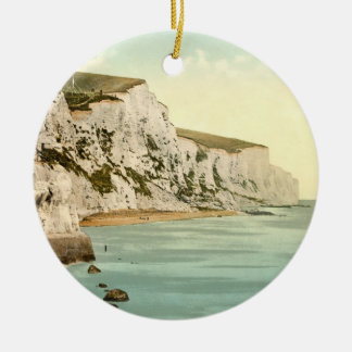 White Cliffs of Dover, Kent, England Ceramic Ornament