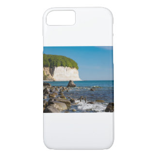 White cliffs on shore of the Baltic Sea iPhone 7 Case