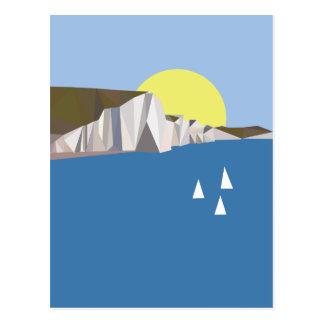 White Cliffs Summer Postcard