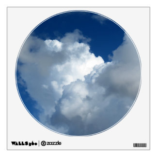 White Cloud 33 Wall Sticker