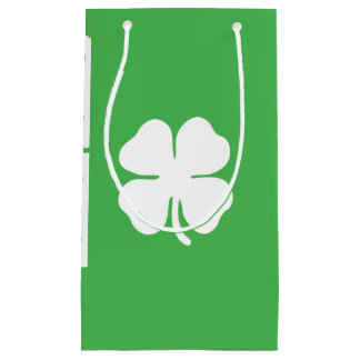 White Clover Leaf Gift Bag