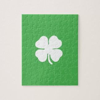 White Clover Leaf Puzzle