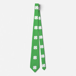 White Clover Leaf Tie