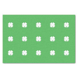 White Clover Leaf Tissue Paper