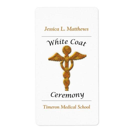 White Coat Ceremony Gold Medical, Custom Gift