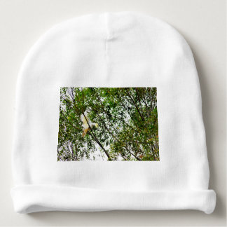 WHITE COCKATOO QUEENSLAND AUSTRALIA BABY BEANIE