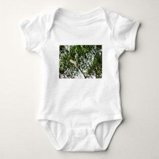 WHITE COCKATOO QUEENSLAND AUSTRALIA BABY BODYSUIT