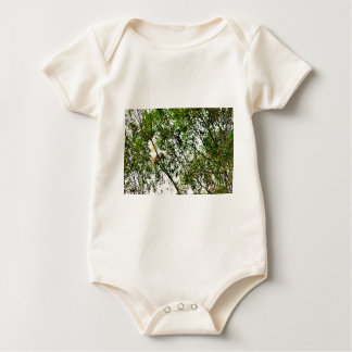 WHITE COCKATOO QUEENSLAND AUSTRALIA BABY BODYSUIT