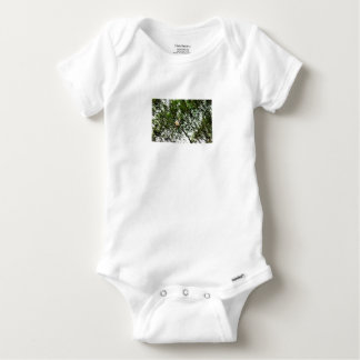 WHITE COCKATOO QUEENSLAND AUSTRALIA BABY ONESIE