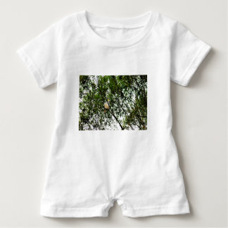 WHITE COCKATOO QUEENSLAND AUSTRALIA BABY ROMPER