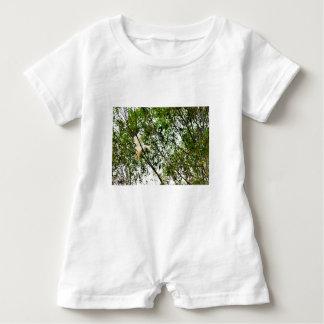 WHITE COCKATOO QUEENSLAND AUSTRALIA BABY ROMPER