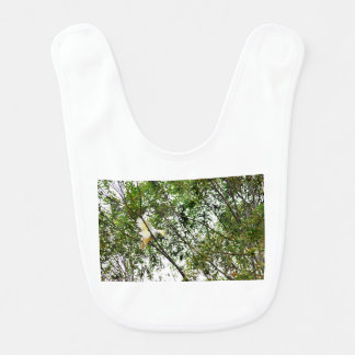 WHITE COCKATOO QUEENSLAND AUSTRALIA BIB