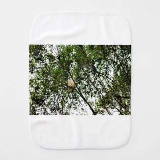 WHITE COCKATOO QUEENSLAND AUSTRALIA BURP CLOTHS