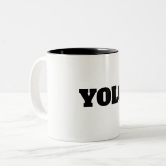 WHITE COFFE Two-Tone COFFEE MUG