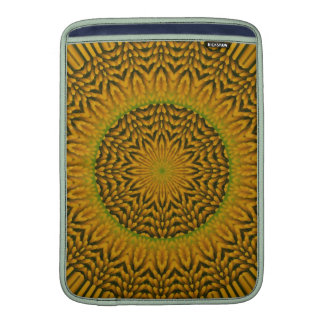 White Coneflower Mandala Image 14 MacBook Sleeve