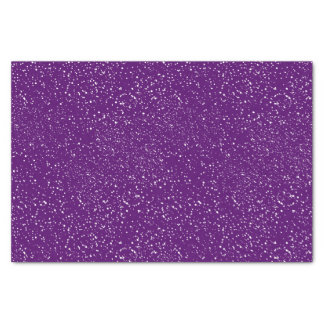 White Confetti Dots Custom Tissue Paper