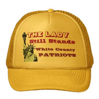 """ White County Patriots"" Trucker Hat"