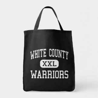 White County - Warriors - High - Sparta Tennessee Grocery Tote Bag