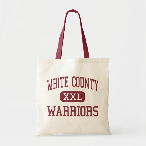 White County - Warriors - High - Sparta Tennessee Canvas Bags
