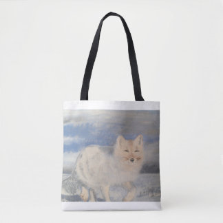 white coyote. tote bag